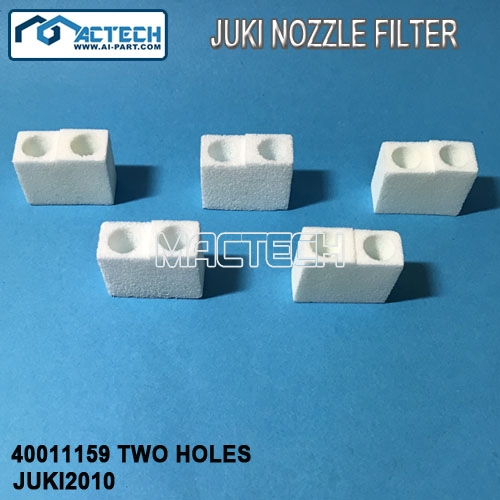 40011159 TWO HOLES, Juki Nozzle Filter