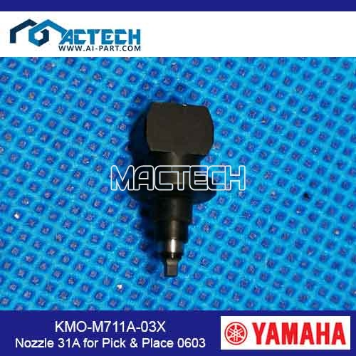KMO-M711A-03X	Nozzle 31 for Pick & Place -0603