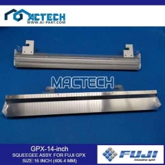 GPX-14-inch SQUEEGEE ASSY. FOR FUJI GPX SIZE:16 INCH (406.4 MM)